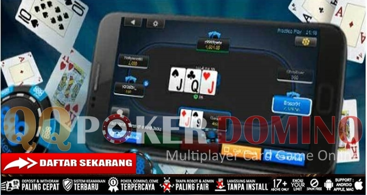 Tips Main Judi Poker Via Smartphone