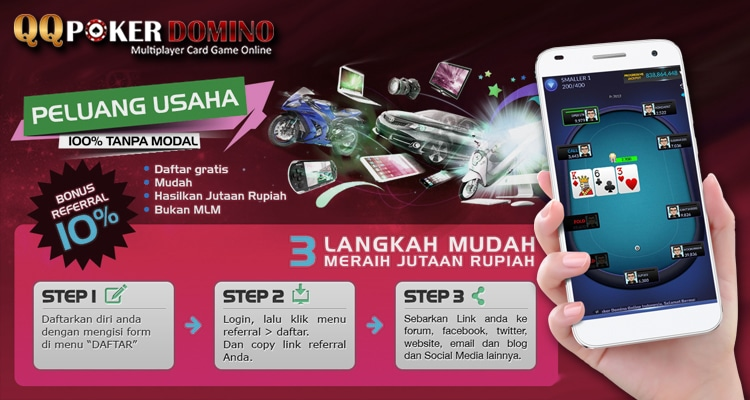 Bonus Referral Poker Tertinggi Dari – QQ Poker Domino